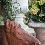 hästhuvud trädgårdsinspiration rost hortensia